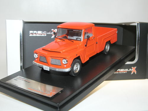 Premium X Models 1980 Ford F-75 Pick-Up orange 1/43