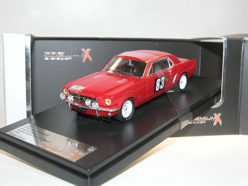 Premium X, Ford Mustang, Winner Rallye Tour de France 1964 #83, 1/43