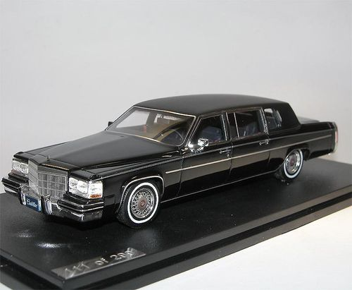 GLM 1984 Cadillac Fleetwood Formal Limousine black 1/43