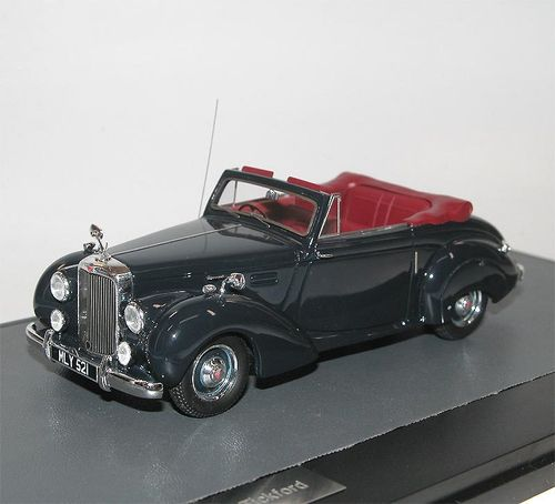 Matrix Scale Models 1952 Alvis TA21 Tickford DHC blau 1/43
