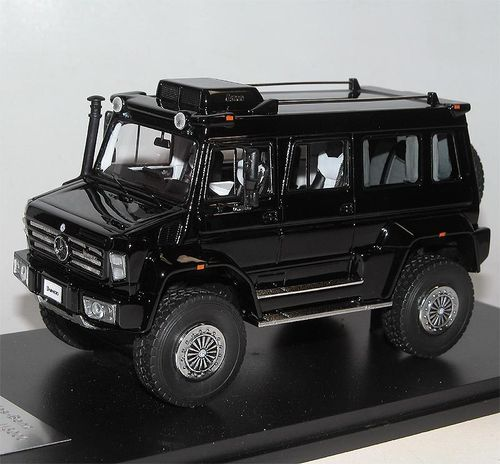 Great Lighting Models, Mercedes-Benz Unimog U5000 SUV, 2012, black, 1/43