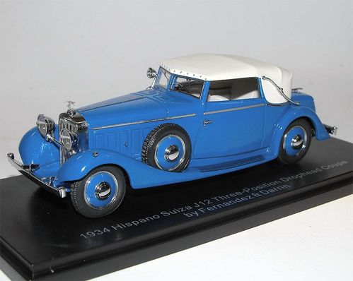 ESVAL Models 1934 Hispano Suiza J12 DHC 1/43