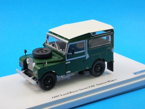 "TSM Model 1957 Land Rover Serie I 88"" Station Wagon 1/43"