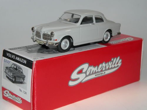 Somerville Models 1962 Volvo Amazon Limousine hellgrau 1/43