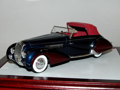 Chromes/Ilario, 1939 Delage D8-120 Cabriolet Grand Luxe Chapron, 1/43