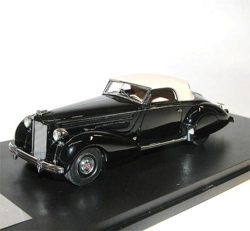 Great Lighting Models, Packard Eight 1601 Graber Cabriolet, 1938, 1/43