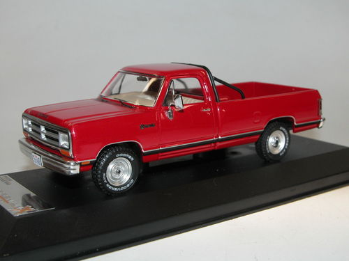 Premium X Models 1987 Dodge Ram Pick-Up rot 1/43