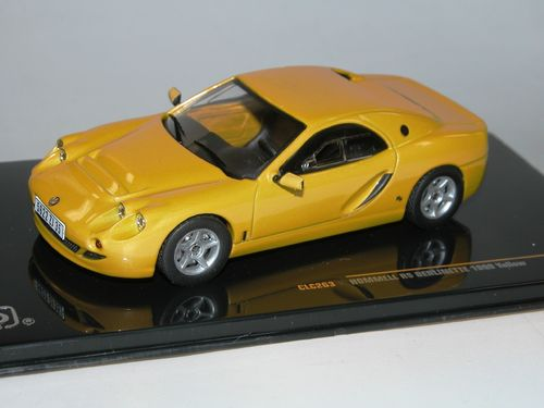 IXO 1999 Hommell RS Berlinette Coupe gelb 1/43