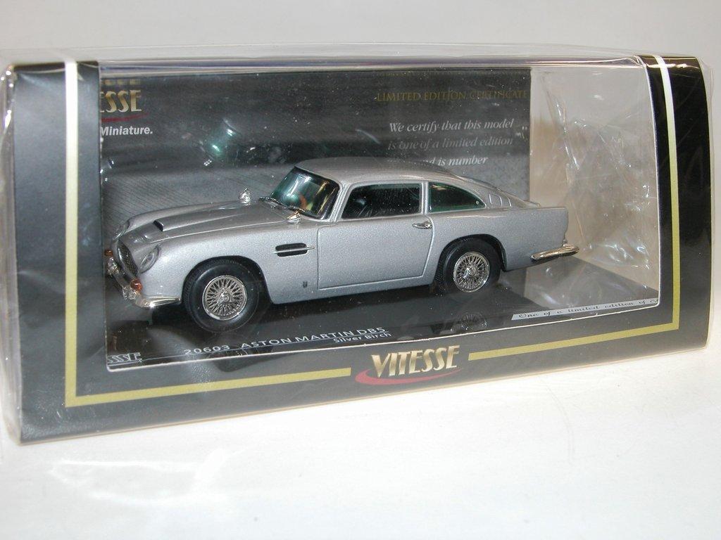 Vitesse 1963 Aston Martin Db5 Silver Birch Modellauto 1 43