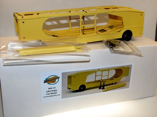 Brooklin 1955 W&K 4-Vehicle Car Hauler Autotransporter 1/43