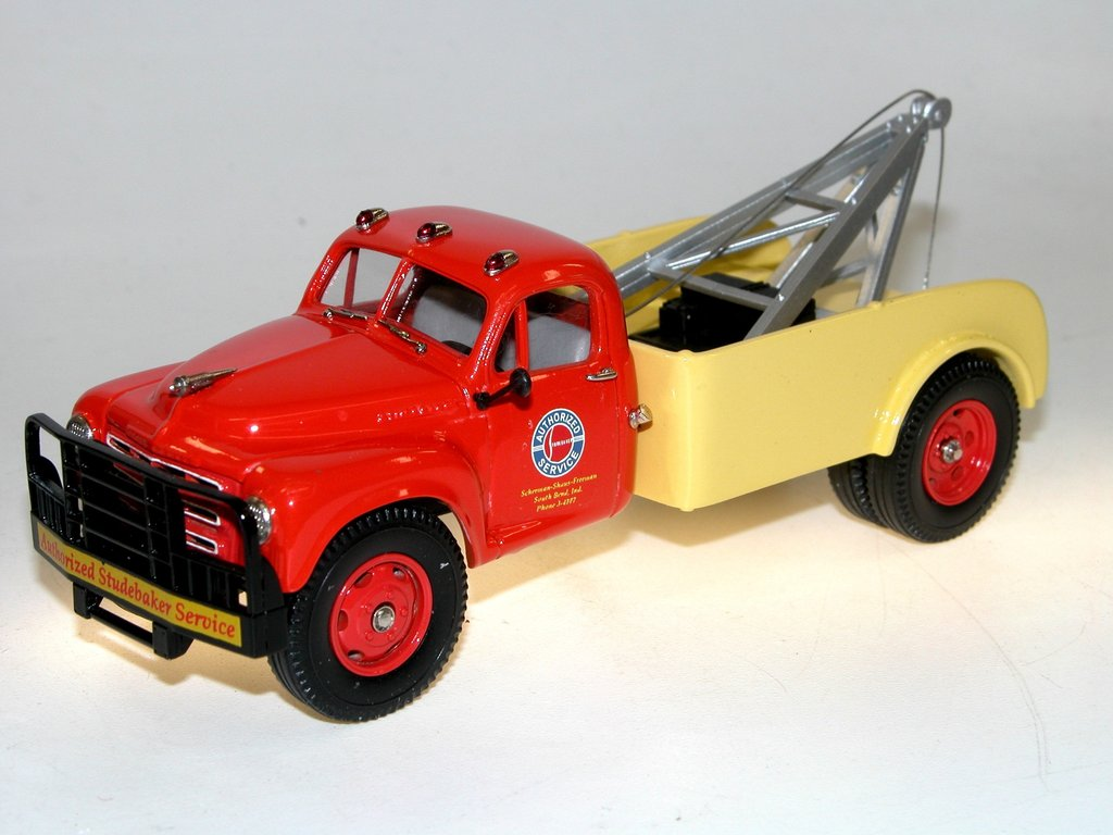 Brooklin Models 1950 Studebaker US32 Wrecker