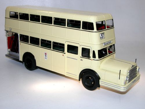 Kimmeria, Do 54 Doppeldeckerbus BVG Berlin-Ost DDR 1954, 1/43