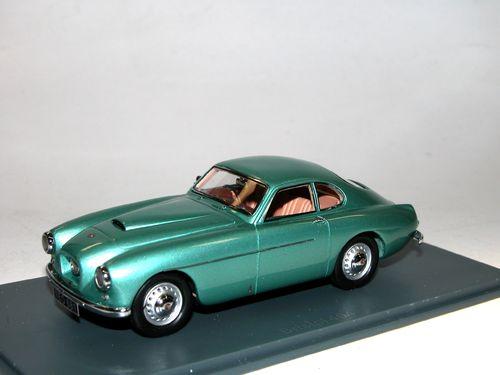 1963  rot red  1:43 Neo Scale Models 45180 NEU OVP NSU Neckar Siata 1500 TS  Bj