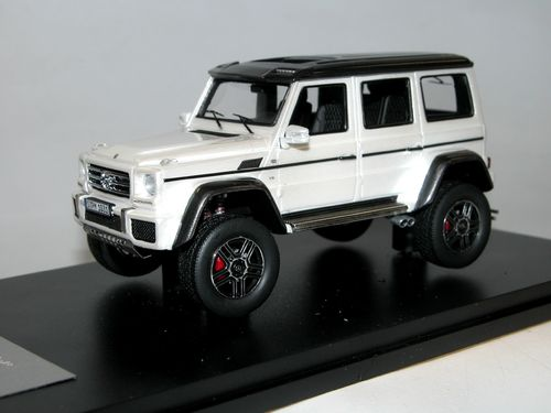 Great Lighting Models, Mercedes-Benz G 500 4x4², 2015, white, 1/43
