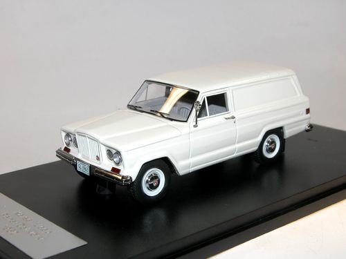 Great Lighting Models, 1962 Kaiser Jeep Panel Delivery Van, white, 1/43