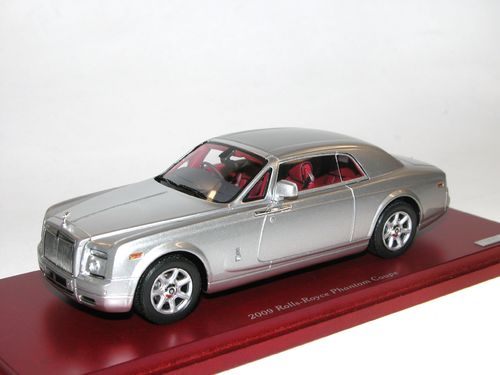 TSM Model 2009 Rolls Royce Phantom Coupe silber 1/43