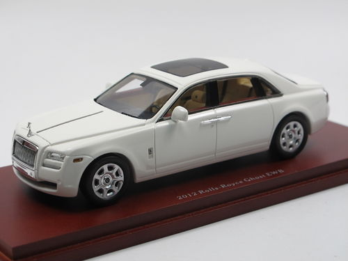TSM Model 2012 Rolls Royce Ghost EWB white 1/43