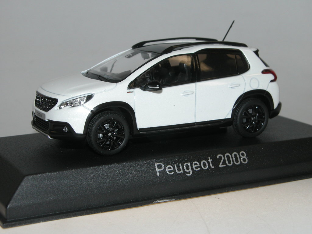 norev 2016 peugeot 2008 mini suv gt line pearl white neuheit. Black Bedroom Furniture Sets. Home Design Ideas