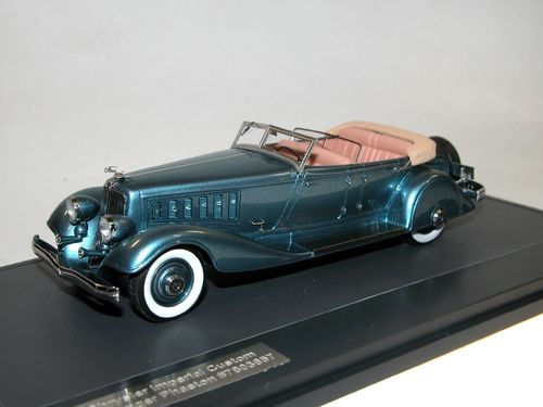Matrix, 1933 Chrysler Imperial Custom Five-Passenger Phaeton, 1/43