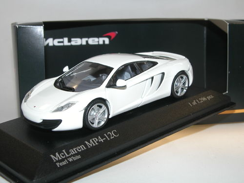 Minichamps 2011 McLaren MP4-12C pearl white 1/43