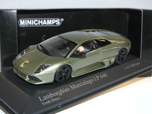 Minichamps 2006 Lamborghini Murcielago Lp640 Verde Draco 1 43 Rar