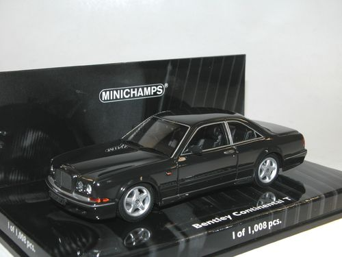 Minichamps 1996 Bentley Continental T black 1/43