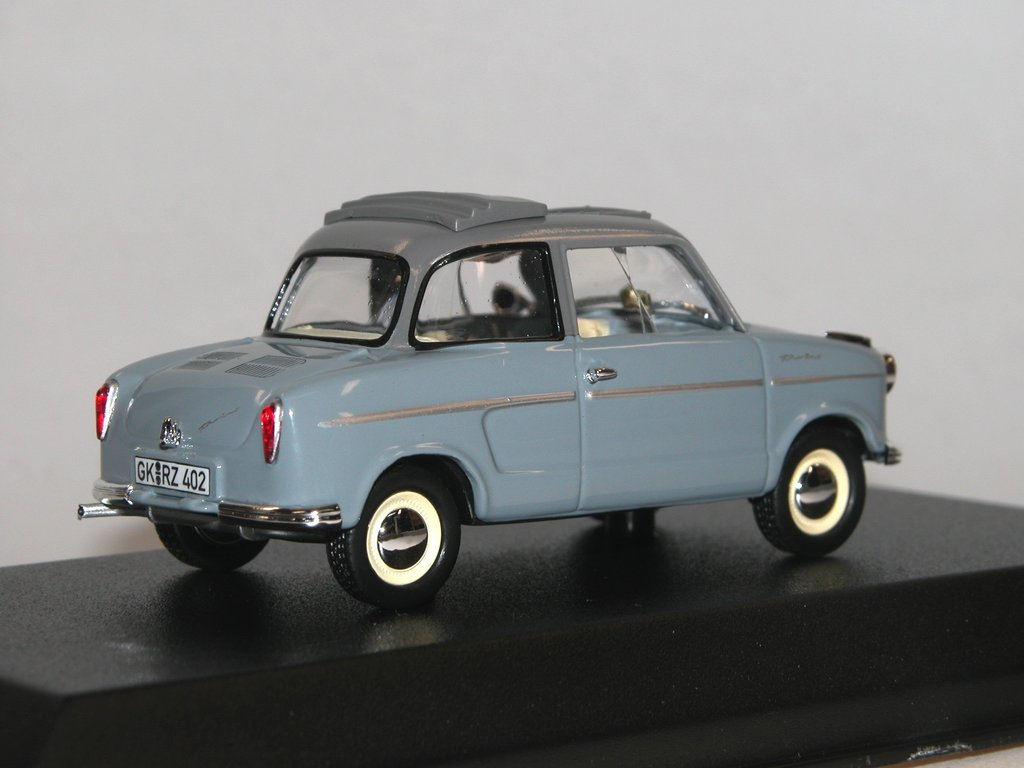 norev 1959 nsu prinz 2 ii grau detailliertes die cast modell. Black Bedroom Furniture Sets. Home Design Ideas