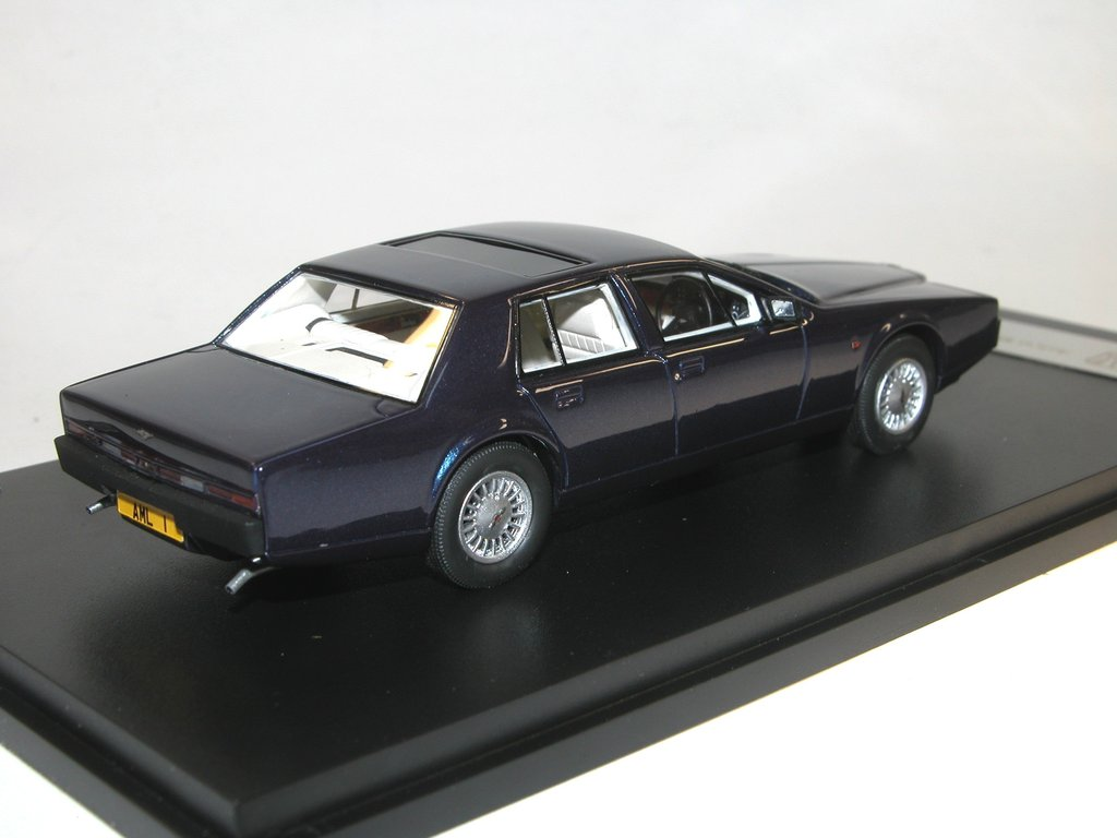 Glm 1987 Aston Martin Lagonda Series 4 Blue Model Car 1 43