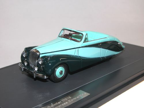 1951 Daimler DB18 Empress Hooper Convertible, 1:43