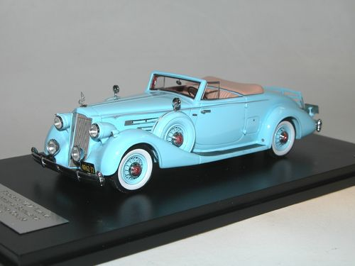 GLM 1936 Packard 1407 Twelve Bohman + Schwartz Convertible, 1/43