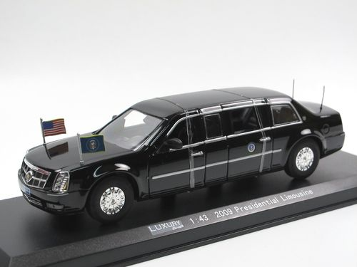 LUXURY Die-Cast Presidential State Limousine 2009 Barack Obama, 1:43