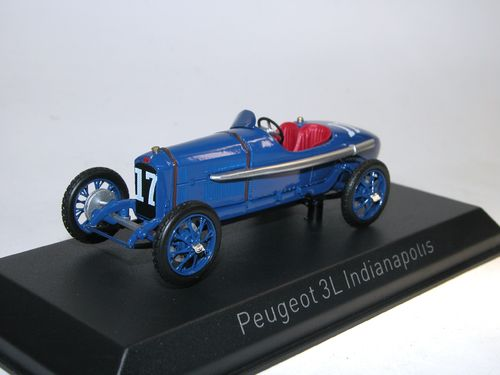 Norev  Peugeot 3 Litres Indianapolis 1920 #17, 1:43
