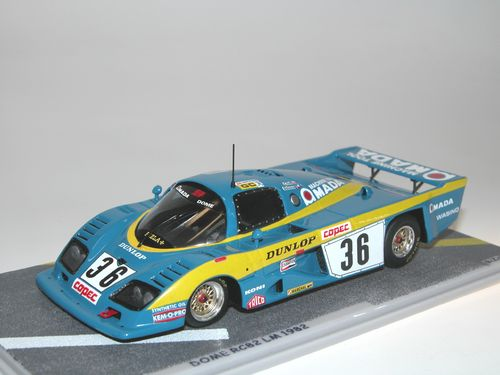 Bizarre Dome RC82 AMADA Le Mans 1982 Craft/Salazar #36, 1:43