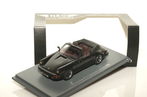 Neo 1985 Porsche 911 Carrera Cabrio US-Version 1/43