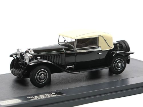 1930 Bugatti Type 46 Faux Cabriolet Veth & Zoon 1/43