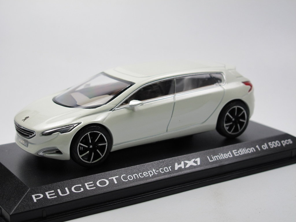 norev peugeot hx1 concept car 2011 1 43 toy fair 2013 limited. Black Bedroom Furniture Sets. Home Design Ideas