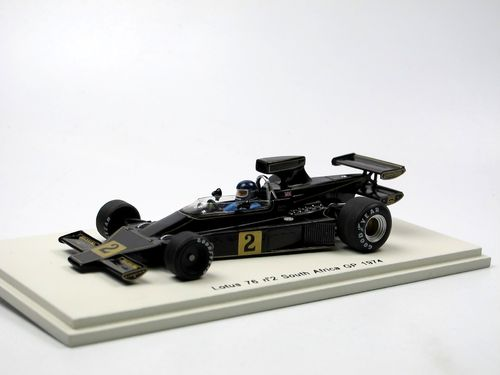 Spark Lotus 76 South African GP Kyalami 1974 Jacky Ickx 1/43