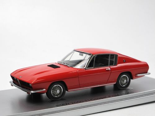Kess Scale Models 1968 BMW 2000 Ti Frua Coupe red 1/43