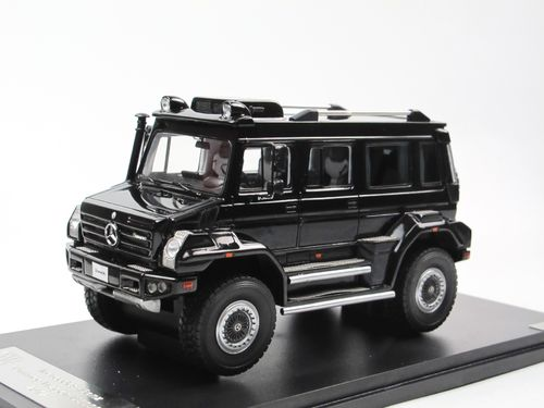 GLM 2012 Mercedes-Benz Unimog Wagon U5000 black 1/43