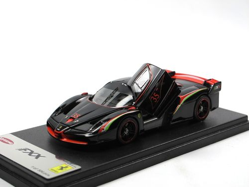 Kyosho Ferrari FXX Evoluzione black with Italian Stripe 1/43