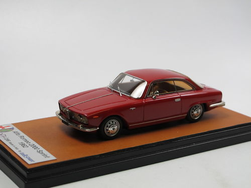 Looksmart 1962 Alfa Romeo 2000 Sprint red 1/43