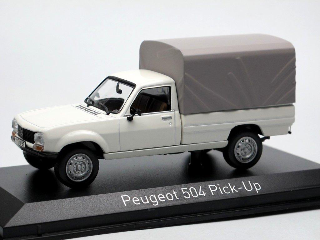 norev 1985 peugeot 504 pick up wei 1 43 sehr detailliert. Black Bedroom Furniture Sets. Home Design Ideas