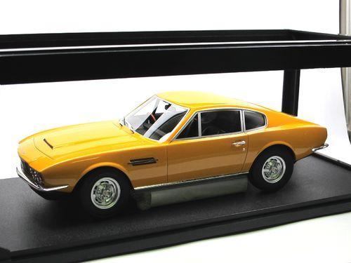 Cult Models 1968 Aston Martin Dbs Yellow 1 18 Resine