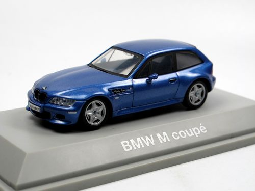 Schuco 1998 BMW Z3 M Coupe blau metallic 1/43