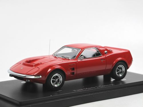 AutoCult 1967 Ford Mustang Mach 2 Concept Car red 1/43