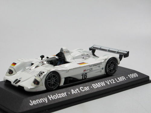 Minichamps BMW V12 LMR 1999 Art Car Jenny Holzer #16 1/43