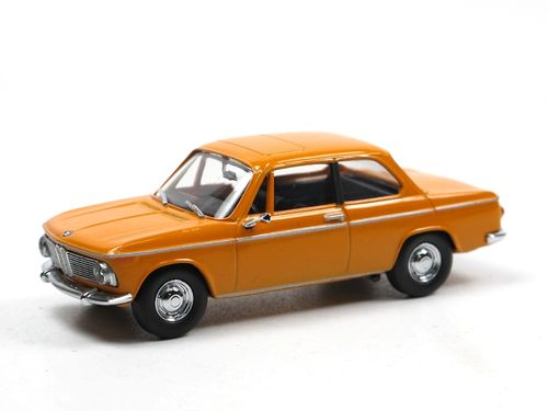 Schuco 1968 BMW 2002 Limousine orange 1/43