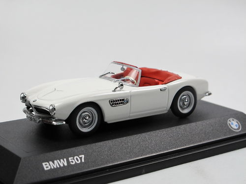 Minichamps 1956 BMW 507 Roadster weiß 1/43