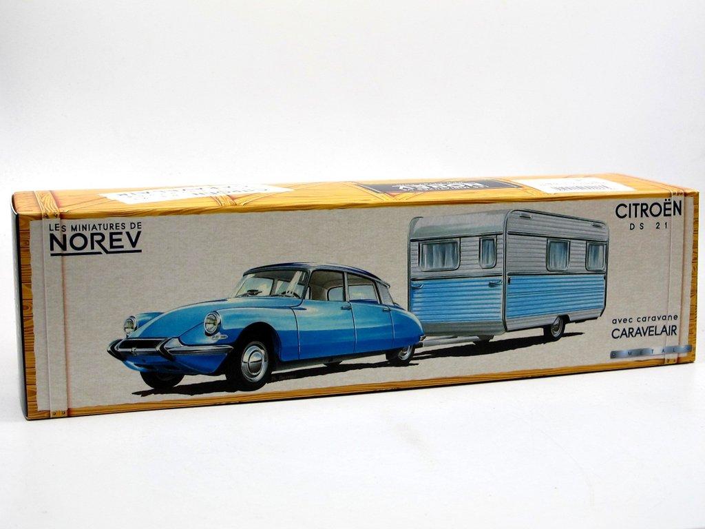 norev classic citroen ds 21 caravane wohnwagen gr n 1. Black Bedroom Furniture Sets. Home Design Ideas