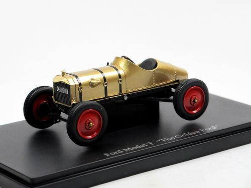 "AutoCult 1911 Ford Model T ""Golden Ford""  1/43"